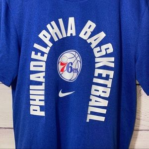 Nike Philadelphia Basketball Dri-Fit Athletic Cut